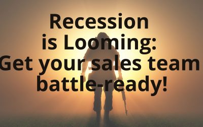 Recession is looming: Get your sales team battle-ready