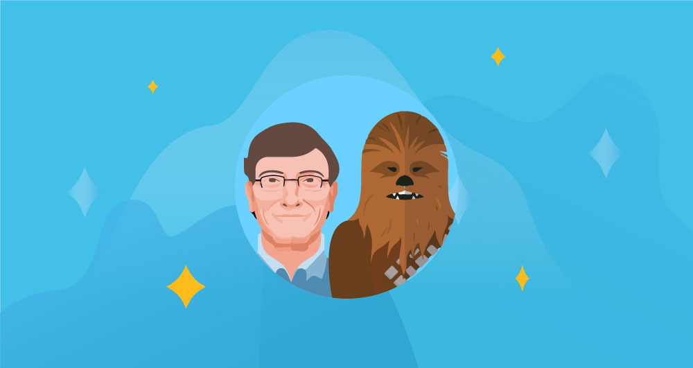 Bill Gates and Chewbacca Believe In The Magic of Software